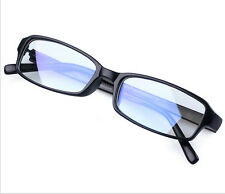 VINTAGE Nerd Rectangular Frame Men Women Eyewear Clear Lens Eye Glasses BLACK