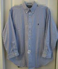 Polo Ralph Lauren Shirt 17 Neck 32/33 Sleeve Classic Fit Cotton