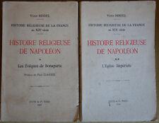 Histoire Religieuse de Napoléon - 2 Tomes - V. Bindel - 1940 -