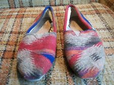 Toms Womens Size 8 Colored Flats 380714