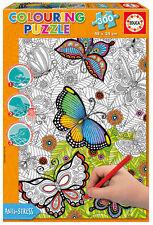 Puzzle Educa 17089 All Good Things, 300 piezas, para Colorear tu mismo, Infantil