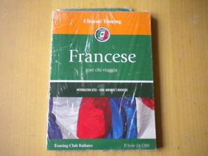 Francese per chi viaggia + centro città pocketTouring Libro lingua viaggi Nuovo