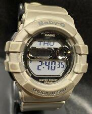 Casio Baby-G Glitter Dial Ladies Watch BGD-141 BGD141 Gray New Battery