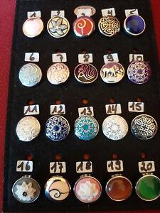 Chunk Click Button Druckknopf zum aussuchen für Armband Ring Kette