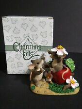 Fitz And Floyd Charming Tails Apple Of My Eye Limited Edition 2000 89 /110