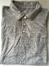 OLD NAVY Soft Washed Men's Light Gray Polo Casual Pullover Shirt Small S