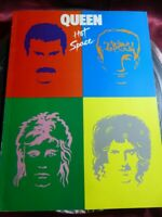 *RARE* QUEEN Hot Space BOOK Words & Sheet Music to 11 Songs 1982 EMI *FREE P&P*