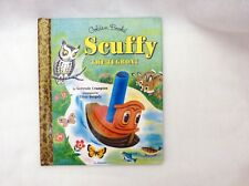 Little Golden Storybook: Scuffy the Tugboat 1997 hardcover, 1st printing, clean
