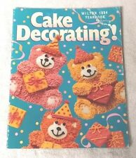 WILTON 1994 CAKE DECORATING YEARBOOK Pan Instructions + FREE SHIPPING