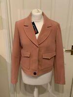 NEW Principles Ben De Lisi Pink Blazer Jacket (Various Sizes) RRP £65.00