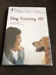 Dog Training 101 (4 Disc DVD Set, 2018) by The Great Courses