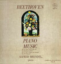 "LP 12"" 30cms: Beethoven: piano music vol. IV. Alfred Brendel. coffret 3LP. F7"
