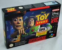 Jeu TOY STORY sur Super Nintendo SNES Neuf carton d'usine version PAL