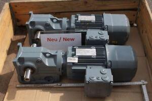 SEW 0,75 Kw 48 Min Gear Motor K37 DRE80M4BE1HR / Is Gearbox
