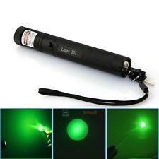 10 Miles Range 532nm Green Laser Pointer Light Pen Visible Beam High Power Lazer