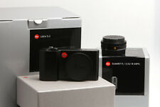 Leica TL2 schwarz eloxiert Set mit Elmarit-TL 1:2,8/18mm schwarz eloxiert OVP