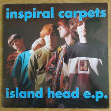 """Inspiral Carpets, Island Head E.P. 12"""", Mute Records"""