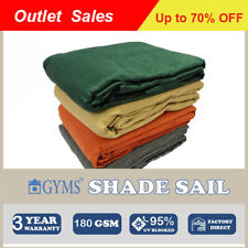 Special! Multi-size Outdoor Patio Shade Sail Sun Shadecloth  6 Colors Canopy