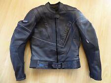 Wie neu! Hochwertige Leder-Motorradjacke Vanucci TFL für Damen, Größe 34