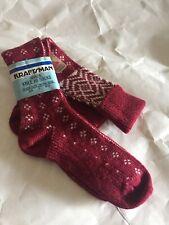 NOS Vintage Women's Girls Knee High Nordic Socks Monsanto USA NEW G3
