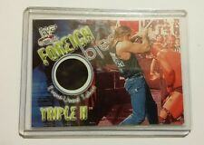 Triple H - 2001 Fleer Foreign Objects Event Used T-Shirt WWE