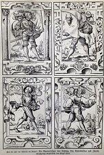 Originaldrucke (1800-1899) aus Schweiz mit Holzschnitt