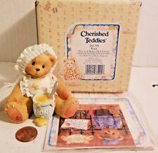 "🔥 New Cherished Teddies Event Figurine Kara ""You're a Honey of a Friend"" 1997"
