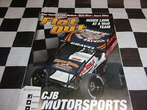 Flat Out Magazine Decembe 2017 Sprint Car Racing Mag Inside Look at a WoO Team