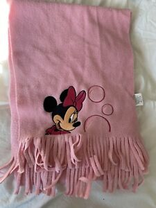 Minnie Mouse Pink Scarf One Size