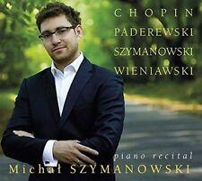PADEREWSKI, CHOPIN, SZYMANOWSKI: PIANO RECITAL NEW CD
