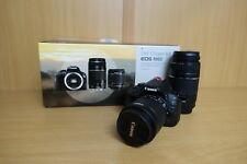 CANON EOS 100D fotocamera digitale 18-55MM 75-300MM