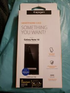 Spigen Samsung Galaxy Note 10 Ultra Hybrid phone case clear 628CS27377