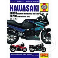 Kawasaki GPX 750 R 1987 Haynes Service Repair Manual 1780
