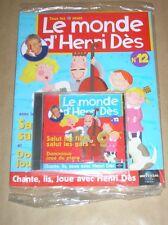 RARE CD + MAGAZINE / LE MONDE D'HENRI DES N°12 / SALUT LES FILLES SALUT LES GARS