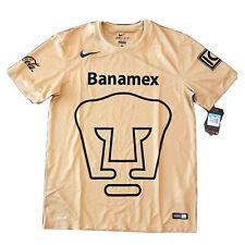 2014/15 Unam Pumas Home Jersey Medium Nike Club Universidad Nacional LigaMX NEW
