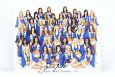 Dallas Cowboys Cheerleaders DCC Team/Squad Photo/Picture 2007-2008 Signed 2x