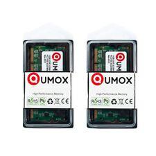 QUMOX 2GB (2x1GB) DDR SODIMM (200 pin) 333Mhz PC2700 DDR333 MEMORIA (q3D)