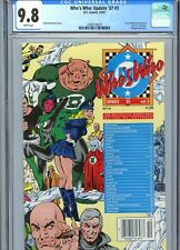 Who's Who Update '87 #3 CGC 9.8 White Pages DC Comics 1987