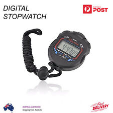 Digital Sport Stopwatch Counter Training Handheld Timer Stop Watch Chronograph
