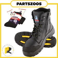 Steel Blue Torquay EH Electrical Hazard Work Boots Zip Composite Toe Cap 827539