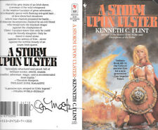 Don Maitz autographed this Kenneth C Flint book cover