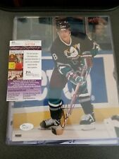TEEMU SELANNE signed 8 x 10 photo DUCKS JSA COA