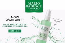 Mario Badescu Facial Spray with Aloe, Cucumber and Green Tea 8oz