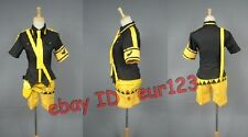Vocaloid Rin&Len Costume Anime Cosplay Costume Custom