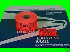 ML1R102, 500 2x3 Fragile Labels/Sticker