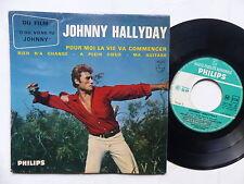JOHNNY HALLYDAY pour moi la vie va commencer 42967 Imprimeur Richir
