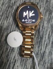 Smartwatch-Oro Michael Kors Bradshaw Con Cargador Funciona Muy Bien!!!
