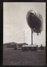 rp00334 - Airship R33 on mast - photograph 6x4