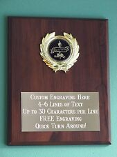 Appreciation/Employee/Thank You Award Plaque 8x10 Trophy FREE custom engraving