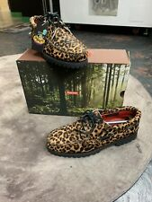 Supreme X Timberland Authentic Boat Shoe Cheetah Print Leather Mens Size 10.5
